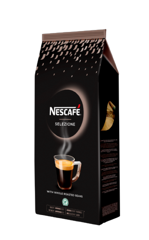 Nescafe Selezione Whole Roasted Coffee Beans Arabica & Robusta Blend 1kg